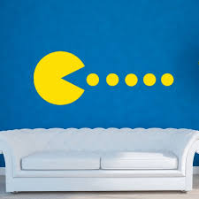 Pacman Home Decorations Family Vinyl Decal Art Wall Stickers Living Room Diamond Level A Wedding Gift Wish