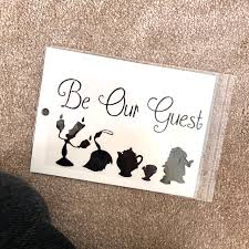 Be Our Guest Wall Decal For Home Decoration Has Depop