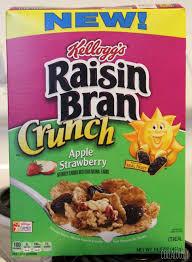 apple strawberry raisin bran crunch cereal