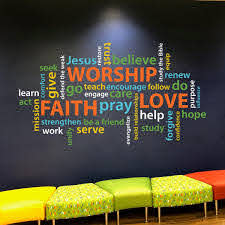 Word Collage Faith Worship Love Youth Room Church Christian Etsy In 2020 Word Collage Youth Room Church Position Words