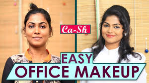 easy office makeup using lakme s
