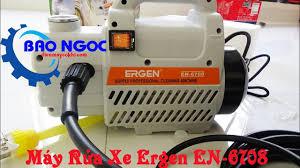 Thiết bị máy rửa xe Ergen EN-6708 - Siêu thị điện máy Bảo Ngọc - YouTube