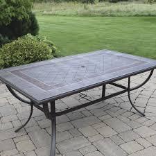 madison rectangular dining patio table