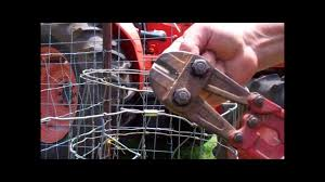 How To Splice A Wire Fence Youtube