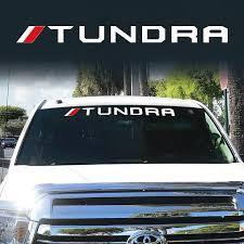 Toyota Trd Off Road Racing Tundra Windshield Vinyl Decal Etsy Toyota Tundra Tundra Toyota