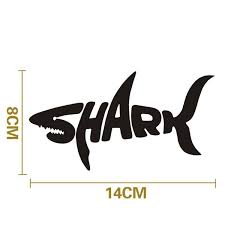 Car Styling Shark Sticker Vinyl Decal Shark Car Stickers And Decals For Car Suv Truck Window Bumper Accessories Wish