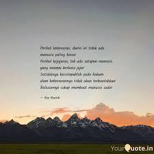 perihal kebenaran dunia quotes writings by karimah irma