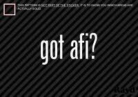 Afi A Fire Inside Band Logo For Sing The Sorrow Leaf Car Decal Sticker Ebay
