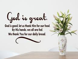 Bible Wall Decal God Is Great God Is Good Vinyl Wall Decal Daily Bread Decal Kitchen Wal Bible Wall Decals Vinyl Wall Decals Kitchen Scripture Wall Decal