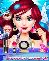 mermaid makeup salon fashionable free