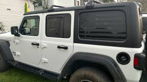 American Flag Window Decal Hard Tops 2018 Jeep Wrangler Forums Jl Jlu Rubicon Sahara Sport Unlimited Jlwranglerforums Com