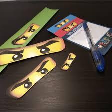 Imprimibles Para Fiesta Lego Ninjago Gratis Aprendiendo Con Julia