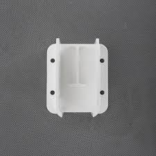 Yardworks White Vinyl Heavy Duty Fence Bracket Kit With Fasteners 2 Pack At Menards
