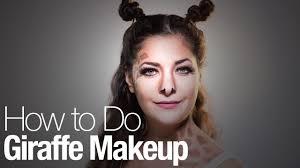 giraffe makeup for halloween