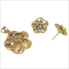 italian pendent gold set ps 5 at best