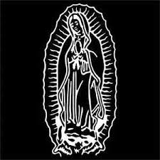 Virgin Mary Guadalupe Vinyl Decal Sticker 2 Two Pack Ebay