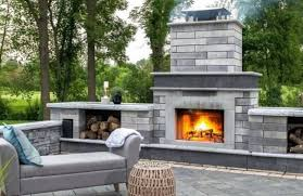best outdoor fireplaces long island in