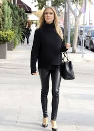 how to wear leather pants 2020