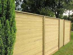 Horizontal Tongue Groove Effect Fence Panel Jacksons Fencing