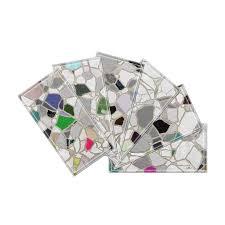 beveled glass subway tile