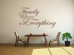 Family Is Everything Wall Art Quote Wall Sticker Modern Vinyl Transfer