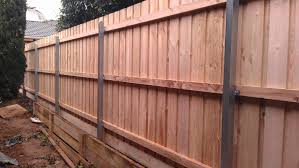 Ironman Fencing Steel Posted Timber Fence