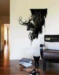 Deer Wall Decal Blik
