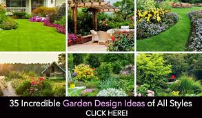 small backyard flower garden designs