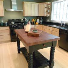 kitchen islands tables end grain