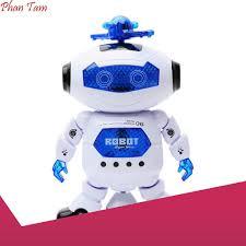 HÀNG CÓ SẴN] Đồ chơi Robot thông minh nhảy múa hát xoay 360 độ ...