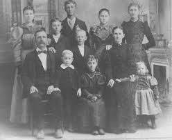 The Byrum Griffith Mitchell Family ca 1896 Picture
