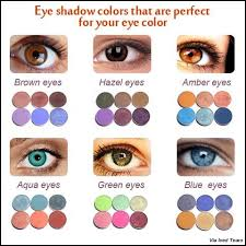 eye makeup color for blue green eyes