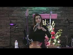 Adriana Fowler, Predicando en Convención de Damas de Iglesia de Dios Peniel  - YouTube