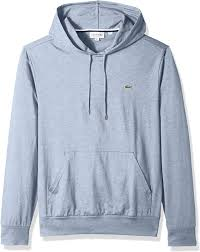 Mens Lacoste Hoodie Pullover Marino Blue TH9349 2018 Collection NEW