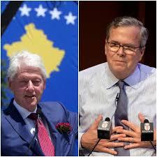 Bill Clinton and Jeb Bush will headline an education talk in Biddeford