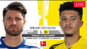 Duisburg vs Borussia Dortmund LIVE STREAMING | DFB Cup Germany live match -  YouTube