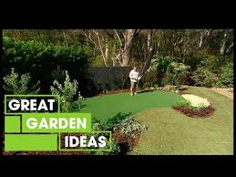 make your own diy putting green