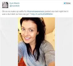no makeup challenge facebook cancer