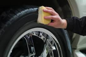homemade tire shine get this old tire