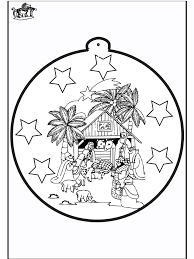 Prikkaart Jozef En Maria Prikken En Kleuren Kerst