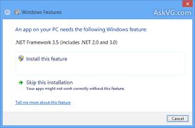 microsoft net framework 3 5 offline