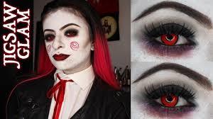 saw jigsaw puppet makeup tutorial
