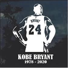 Kobe Bryant Decal Sticker Midwest Sticker Shop