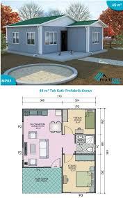 49 square meters 2 bedrooms 1 bathroom