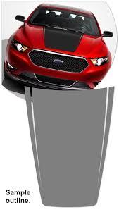 Ford Taurus Hood Enhancement Graphic 2 Sho