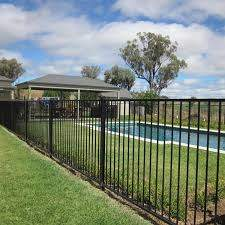 1200mm Height Child Safe Decorative Steel Fencing Playground And Pool Use For Sale Steel Picket Fence Manufacturer From China 110070244