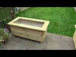 Diy Make Brilliant Raised Wooden Planters From Decking Boards Pt 1 Youtube