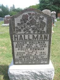 Polly Bowman Hallman (1851-1935) - Find A Grave Memorial