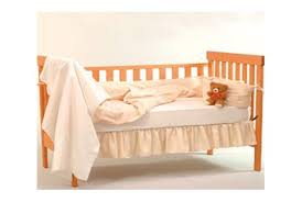cotton organic crib sheet by eco baby