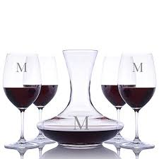sommeliers crystal wine carafe